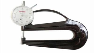 日本孔雀PEACOCK测厚规教你如何测量不同材质的厚度?