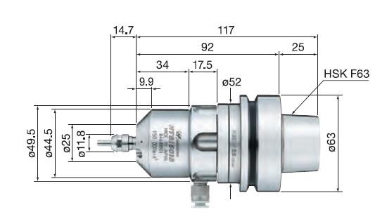HTS1501S-HSK F63尺寸图