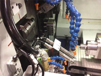 钨钢钻头研磨机主轴应用案例