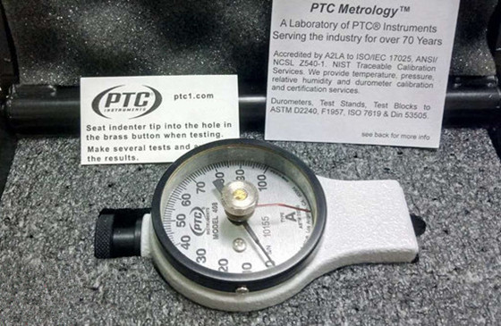美国PTC指针式橡胶硬度计408A