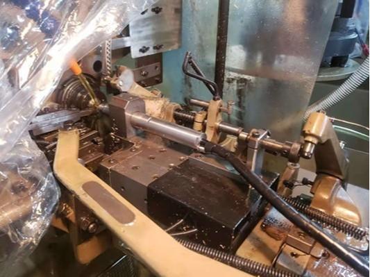 NAKANISHI高速电主轴NR-2551用于凸轮机、排刀上钻孔加工实例