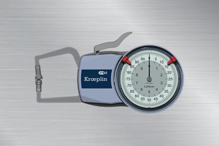德国KROEPLIN盘式外卡规D110T