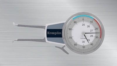 德国KROEPLIN进口喷雾罐专用卡规的应用