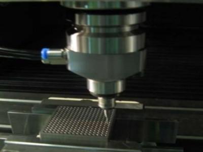 日本NAKANISHI高速主轴BM-320F用于加工中心纯钛螺纹铣削加工
