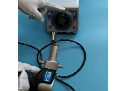 日本NSK电动打磨机搭配往复式磨头NLS-110进行模具抛光加工