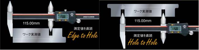 日本KANON数显孔距卡尺E-RM20J应用案例