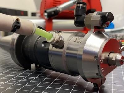 150000转NAKANISHI气动主轴适用于小直径高稳定铣削