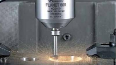 内外圆偏心研磨,选用NAKANISHI气动主轴PLANET600减少成本