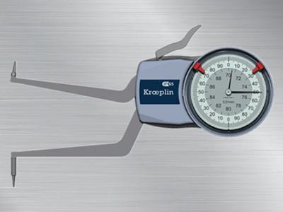 德国kroeplin指针式内径卡规H270