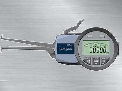 德国kroeplin三点式内卡规G215P3