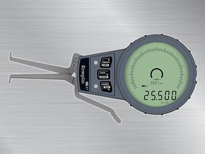 德国kroeplin指针式内径卡规G010