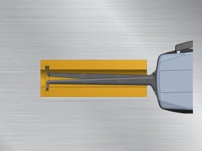 三点式内径卡规G107P3