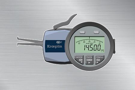 德国KROEPLIN三点式内径卡规G107P3
