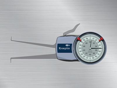 德国针盘式内卡规H230