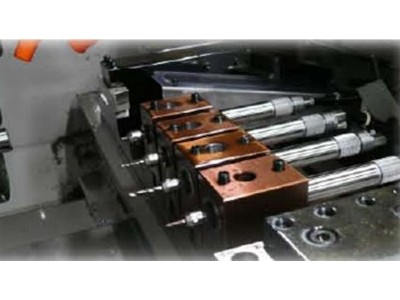4mm不锈钢SUS303钻孔,NAKANISHI高速电主轴EM20-S6000加工应用