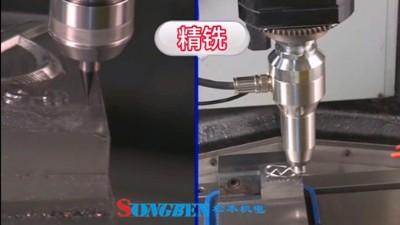 加工中心精铣加工用日本NAKANISHI高速主轴哪个系列合适?
