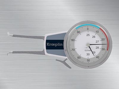 KROEPLIN喷雾罐专用卡规指针式A2100