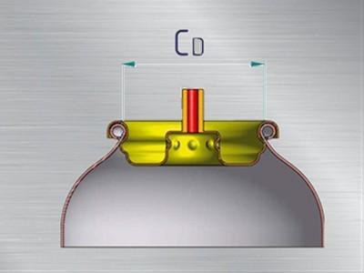 KROEPLIN喷雾罐专用卡规AE2100