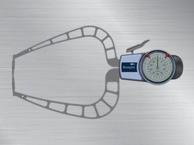 德国kroeplin指针式外卡规D450