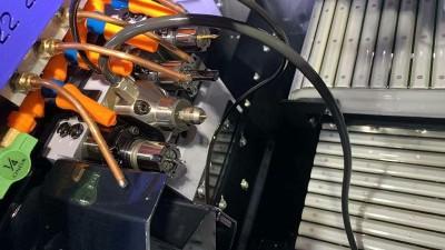 走心机上NAKANISHI高频铣也是喷丝板钻微孔的主轴