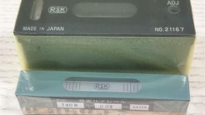 日本RSK条式水平仪100mm与740B之间有什么区别?
