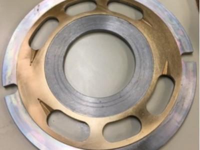 NAKANISHI高速电主轴应用液压泵阀板去毛刺案例
