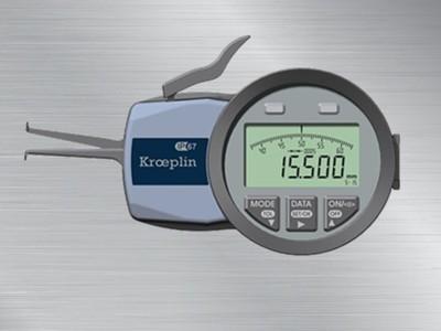 德国kroeplin内径卡规G105