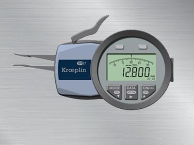 德国kroeplin数显内测卡规G102