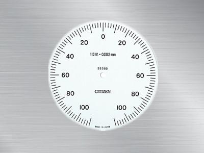 日本西铁城CITIZEN界限量表2S-200