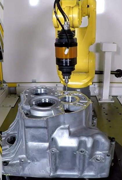 铝合金机器人浮动主轴去毛刺