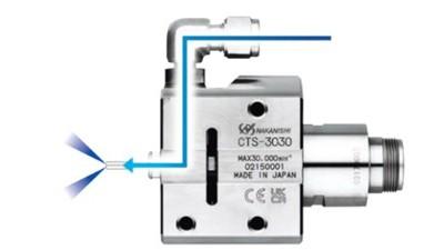 新款中心出水主轴CTS-3030应用于深孔加工缩短加工时间