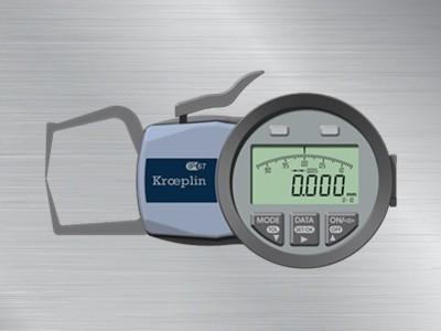 德国KROEPLIN外径卡规C110S