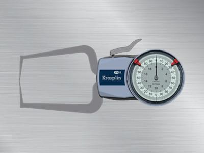 德国KROEPLIN指针式外卡规D220S