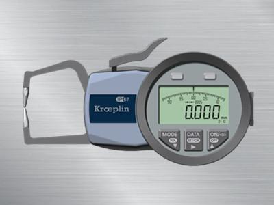 德国Kroeplin数显外卡规C110