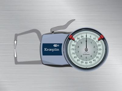 德国KROEPLIN进口外卡规D110