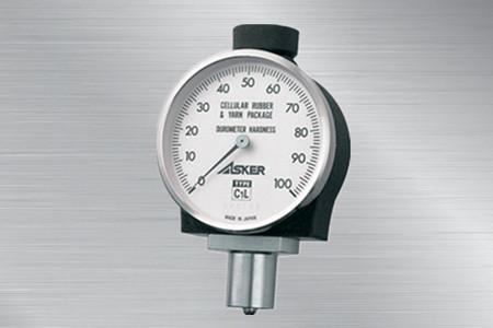 日本ASKER橡胶硬度计C1L型