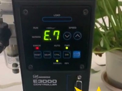 NAKANISHI电主轴出现E7报警,解决方案重点在这里!